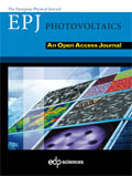 EPJ Photovoltaics Cover page